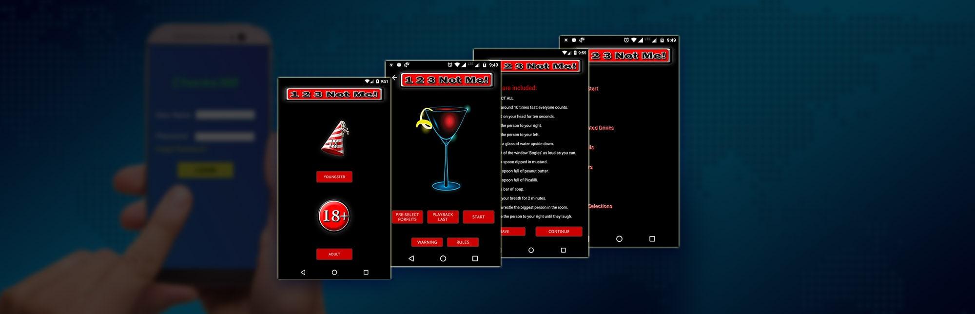Party & Drinking Game App, Android App Development | eBizTrait